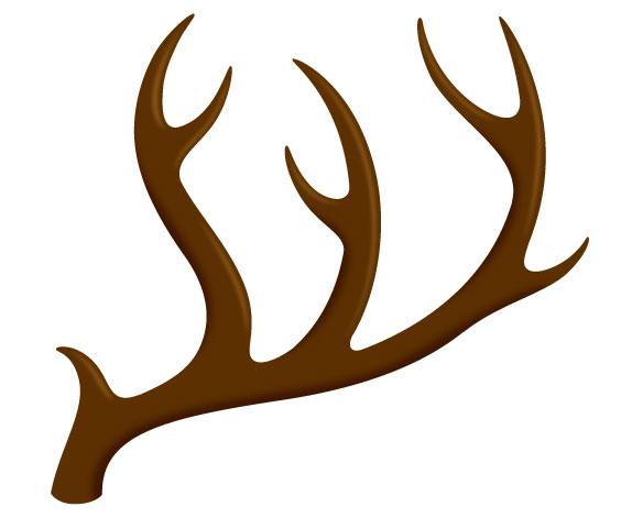 Deer antlers clipart - photo#37